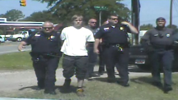 Dashcam Arrest of Dylann Roof