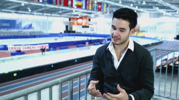 [MI] Eddy Alvarez, South Florida Speedskater, Tries To Clinch Olympic Spot