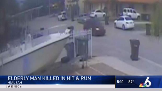 [MI] Elderly Man Killed in Hit-and-Run in Hialeah