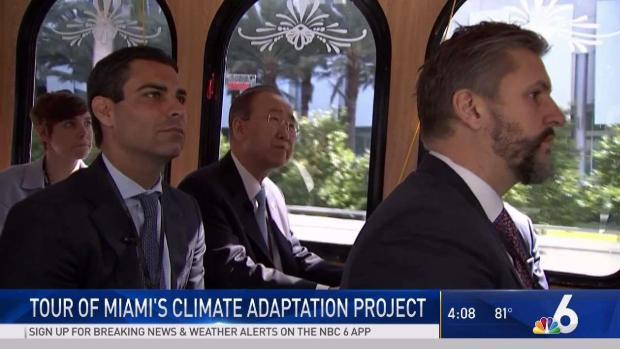 [MI] Ex-UN Leader Tours Climate Adaptation Projects in Miami