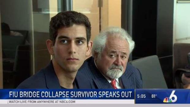 [MI] FIU Bridge Collapse Survivor Speaks Out