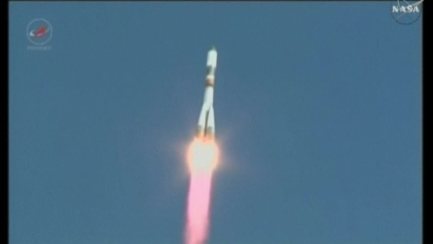 [NATL] Russian Supply Ship Blasts Off to ISS