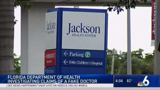 Fake Doctor Spotted at South Florida Hospitals - NBC 6 South