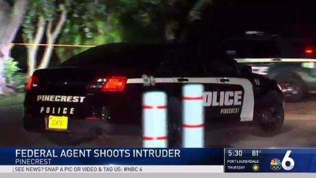 [MI] Federal Agent Shoots Intruder in Pinecrest