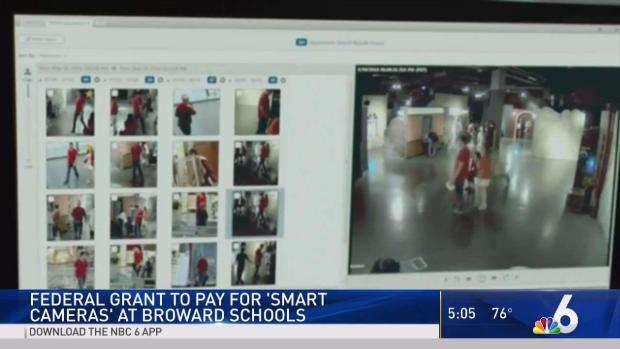 [MI] Federal Grant for Smart Cameras in Broward Schools