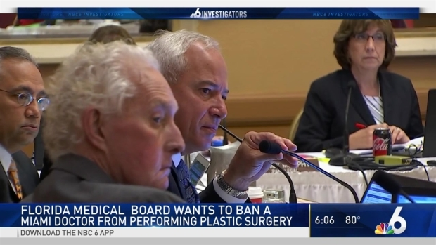 [MI] Medical Board Wants Butt Lift Doctor Banned from Performing Plastic Surgery | NBC 6