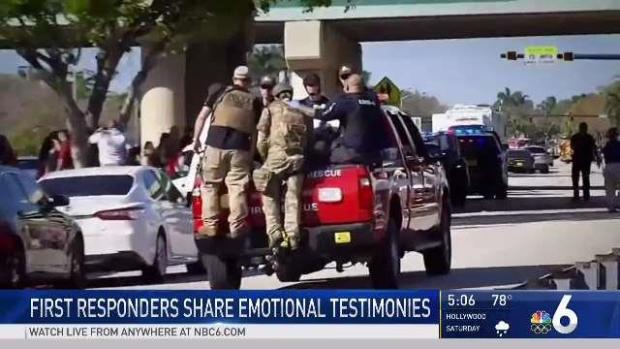 [MI] First Responders Share Emotional Testimonies From Shooting