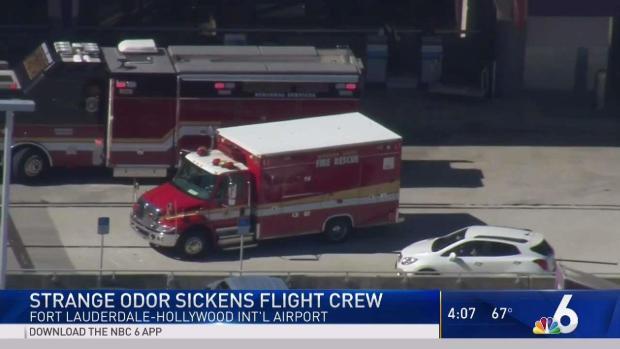 [MI] Flight Crew Sickened at Fort Lauderdale Airport