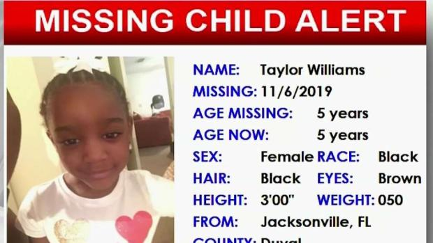 [MI] Florida Amber Alert Issued for 5-Year-Old Girl