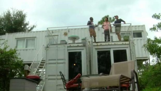 [MI] Florida Man Donates Shipping Container Home to Bahamian Family