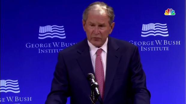 [NATL] 'Casual Cruelty': George W. Bush Criticizes Current State of Politics