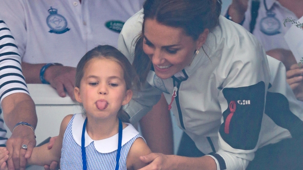 [NATL-USE THIS ONE] Royal Family Photos: Kate and Charlotte Middleton at the King's Cup Regatta, And More