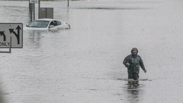 Extreme Weather Photos: Imelda Soaks Southeast Texas