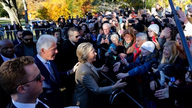 [NATL-NY] Hillary Clinton Casts Her Vote in NY