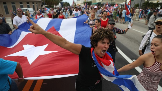 South Florida Reacts To Fidel Castro's Death