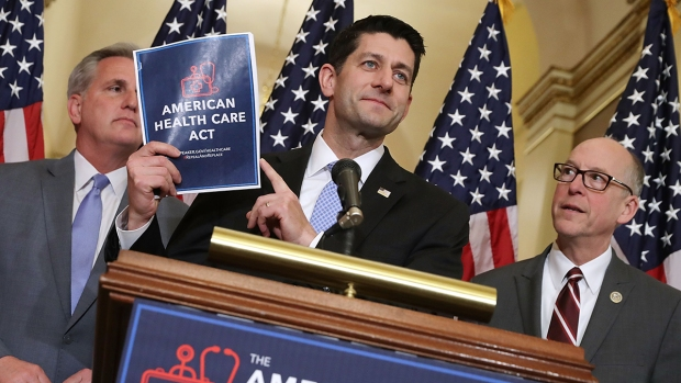 [NATL] GOP Lawmakers Split on American Health Care Act