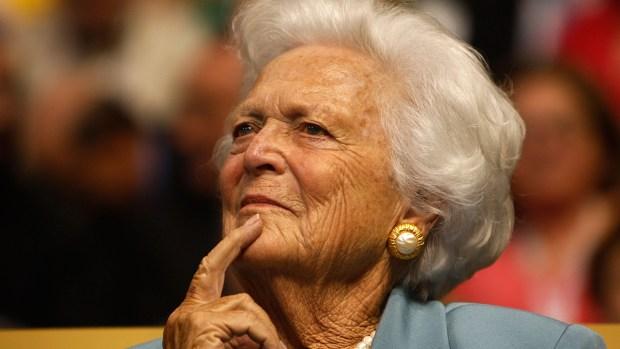 [NATL-DFW] Barbara Bush Focusing on 'Comfort Care': Spokesperson