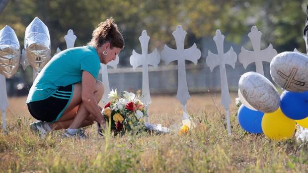 [NATL] Tight-Knit Texas Community Mourns Over 2 Dozen Dead in Church Shooting