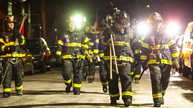 Dramatic Images: Worst NYC Fire in Quarter Century Kills 12