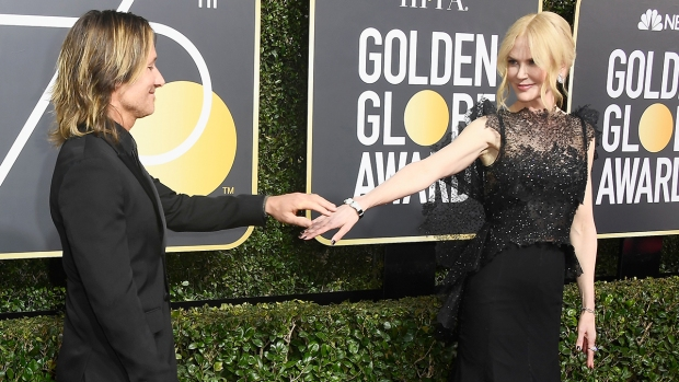 [NATL] Couples at the Golden Globes