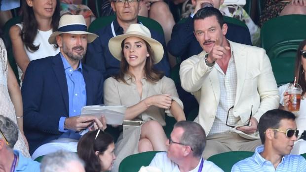 Celebs in the Stands: Stars Attend Wimbledon Finals