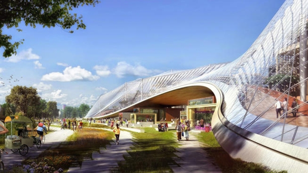 [PHOTOS] Sneak Peak: Plans For Google's New Building