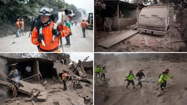 [NATL] 'Volcano of Fire' Eruption Kills Dozens, Scorches Homes and Roads in Guatemala