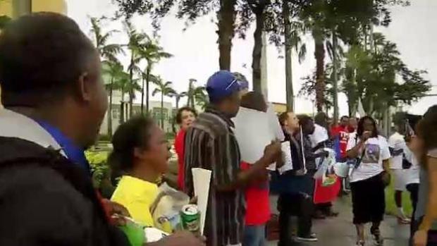 [NATL-MI] Haitians Rally for Temporary Protected Status