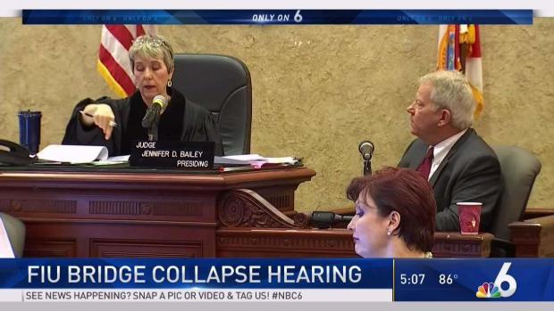 [MI] Hearing Held Over FIU Bridge Collapse