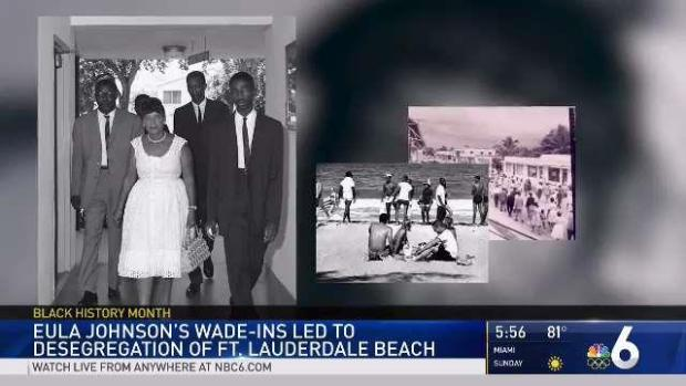 [MI] Johnson's 'Wade-Ins' Ended Segregation in Fort Lauderdale Beach