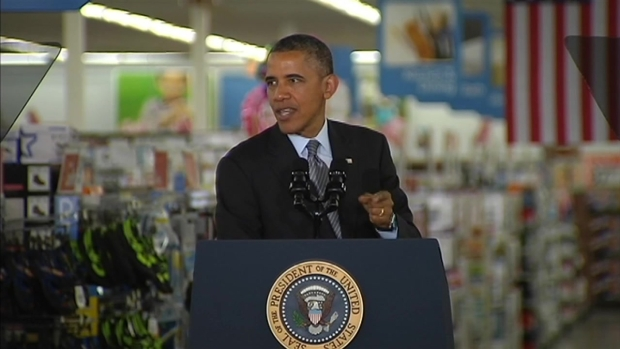 [BAY] Full Speech: President Obama Speaks at Mountain View Walmart Store