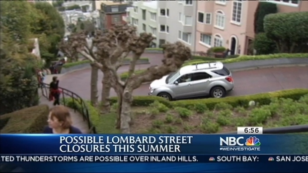 "[BAY] Lombard ""Crooked"" Street Could Shut Down in Summer"