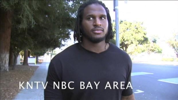 [BAY] RAW VIDEO: 49ers Ray McDonald Leaves Santa Clara County Jail