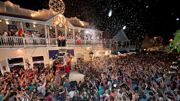 Sushi, High Heels and Conch Shells Ring in 2014 in Key West