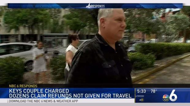 [MI] Keys Couple Charged After Dozens Claim Refunds Not Given for Travel