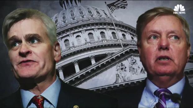 [NATL] GOP Lawmakers Split on Graham-Cassidy Health Care Bill