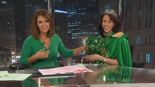 [CHI] St. Patrick's Day Parade Queen Visits NBC Chicago