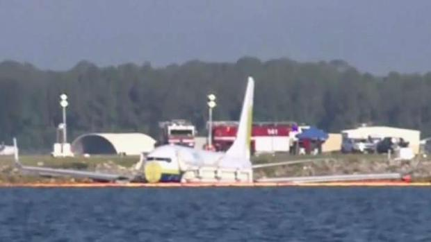 First Look at Plane in River in Jacksonville