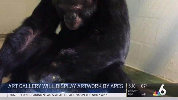 [MI] MJ's Chimp's Art to Go on Display in July