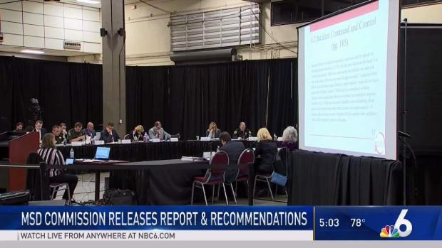 [MI] MSD Commission Releases Report and Recommendations