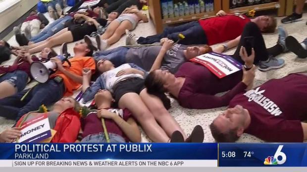 [MI] MSD Survivors Hold Political Protest in Publix