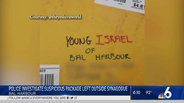 [MI] Mail With Anti-Semitic Threats Sent to Bal Harbour Synagogue: Mayor