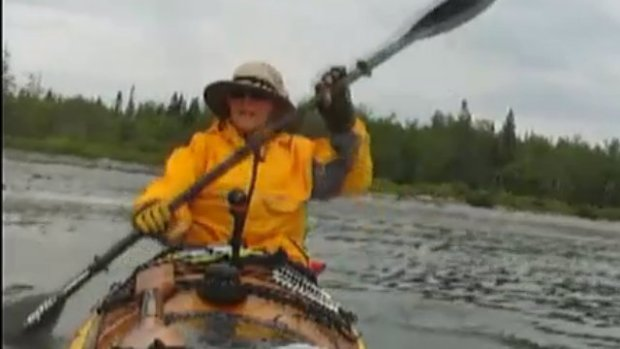 [NECN] Maine grandma kayaking 2,500 miles for charity