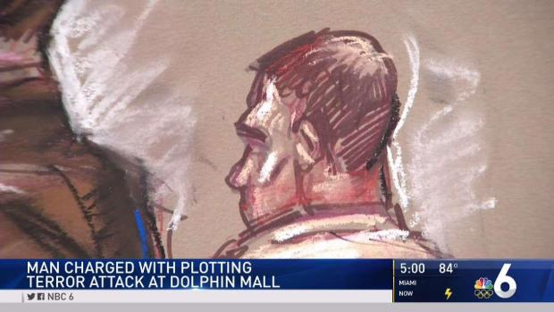 [MI] Man Accused of Dolphin Mall Bomb Plot in Federal Court