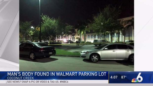 [MI] Man Found Dead in Walmart Parking Lot in Coconut Creek