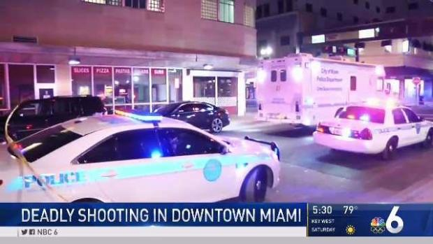 [MI] Man Killed in Shooting at Downtown Miami Intersection