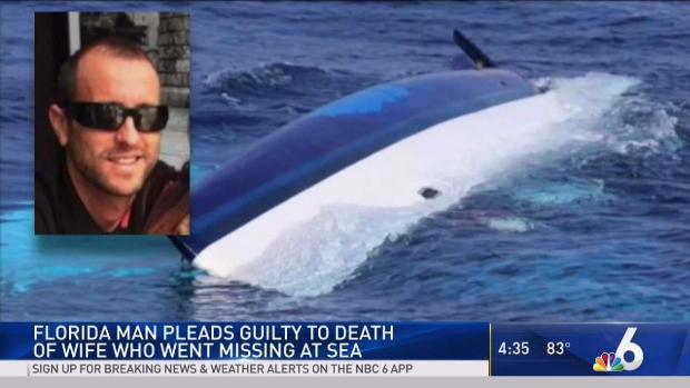 [MI] Florida Man Pleads Guilty in Wife's Disappearance at Sea