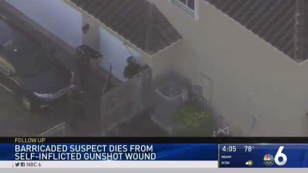 [MI] Man Shoots Himself After Standoff at SW Miami-Dade Home