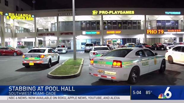 [MI] Man Stabbed at Pool Hall in SW Miami-Dade