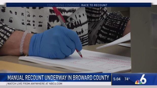 [MI] Manual Recount Underway in Broward County